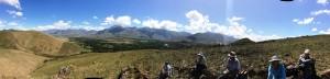 hiking in Greyton pano